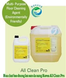 Multi- Purpose Floor Cleaning Agent (Environmentally Friendly) - ALL CLEAN PRO