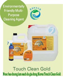 Environmentally Friendly Multi-Purpose Cleaning Agent - TOUCH CLEAN GOLD